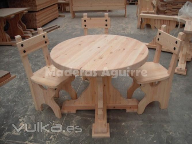 Maderas aguirre s a for Muebles de indonesia