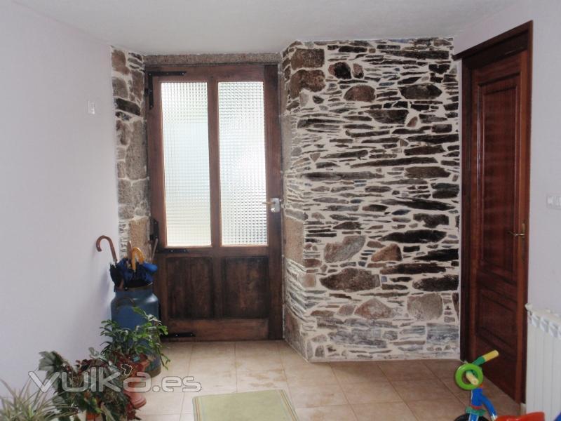 Foto reforma de entrada casa castroverde lugo - Reforma en casa ...