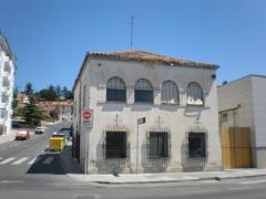Edificio antiguo laboratorio antes rehabilitacion