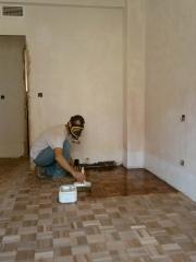 A la hora de barnizar parquet classico en zaragoza