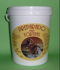 Preparado para hacer tortitas tecnogosan, r�pido y f�cil, destinado a cafeter�as. se puede utilizar en casa. ...