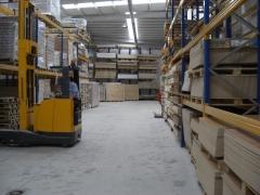 Almacenes de productos para la carpinteria