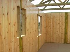 Casa de madera en trigueros