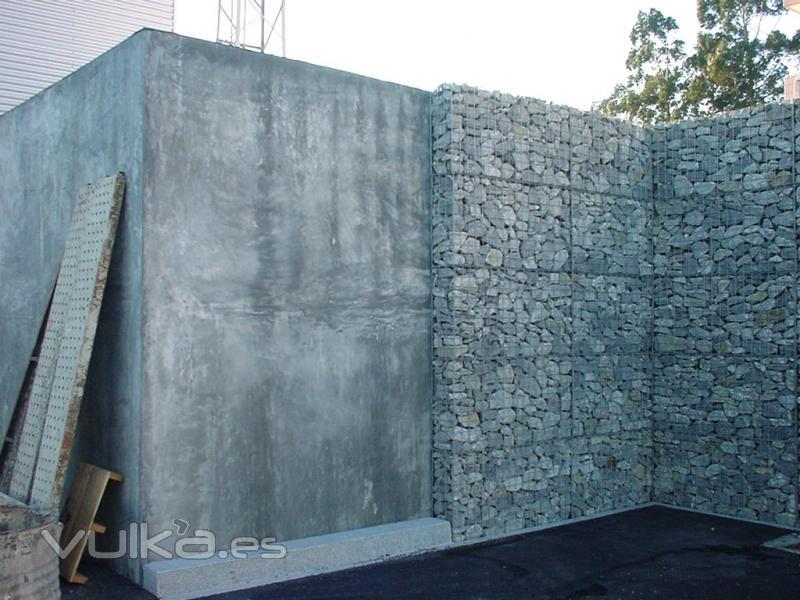 Muros De Gavion Decoracin Del Hogar Prosalocom