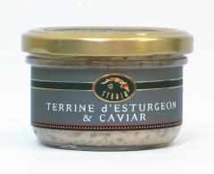 Terrina de esturi�n y caviar