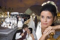 Foto novia �lbum de boda digital dise�o especial