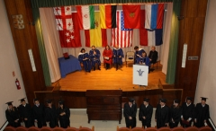 Mid-year graduation ceremony