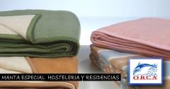 Mantas para hostales, hoteles y hospitales.