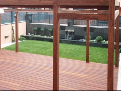 Pergola de madera - diseño exclusivo