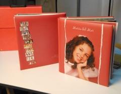 álbum formato libro