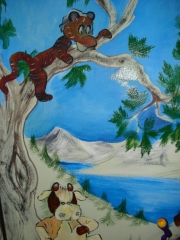 Habitación infantil (pintada)6
