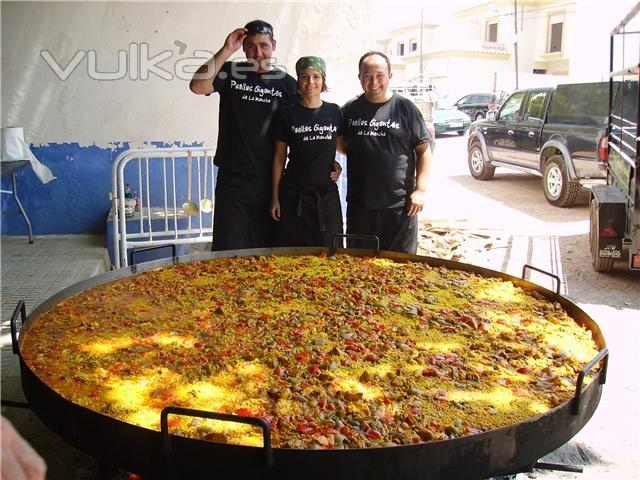 Paellas Gigantes de La Mancha