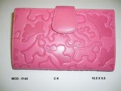 Billetero - ck . color rosa . - el cocker