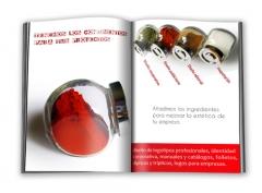 Tenemos los condimentos para tus proyectos. diseño grafico barcelona, maquetacion