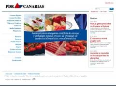 Web de pdr canarias (www.pdrcanarias.net)