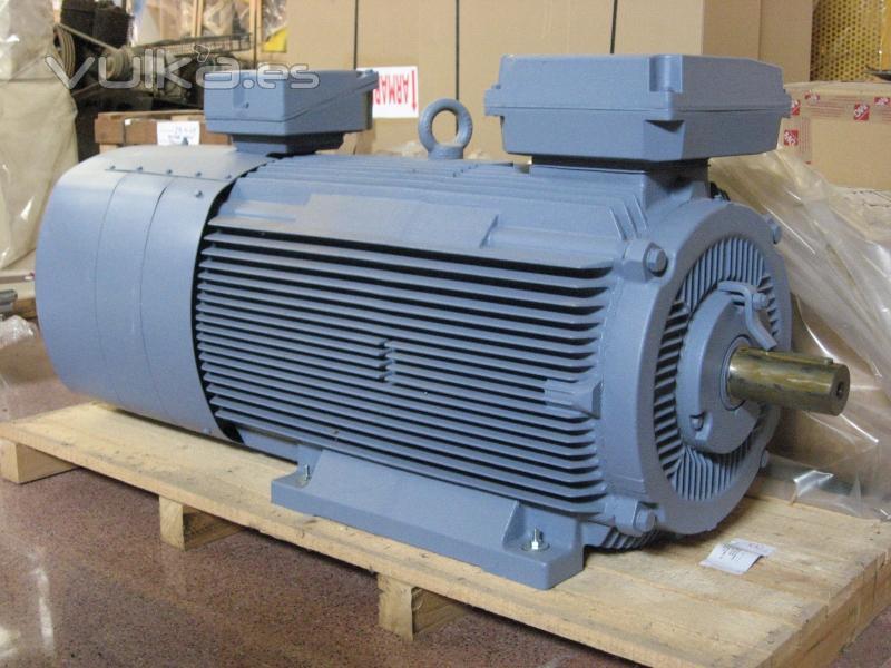 Foto Motor Electrico Motor Abb De Anillos Rozantes De