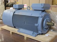 Motor electrico. motor abb de anillos rozantes de 340 cv.
