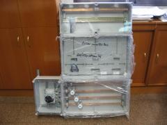 Contadores. modulos plastificados de interior.