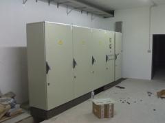 Cuadros electricos. ampliaci�n cuadro general  f�brica.