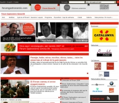 Trabajo web realizado forumgirona.com