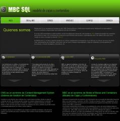 Web de ejemplo mbcsql.com