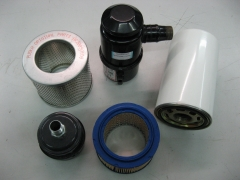 Compresores: filtros de aire y de aceite.