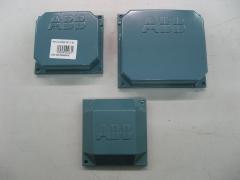 Motores electricos: tapas de cajas de bornes abb.