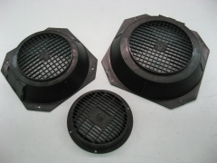Motores electricos: tapas lado ventilador.