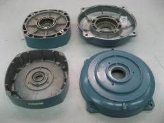 Motores electricos: escudo lado ventilador y escudo lado acople marca abb.