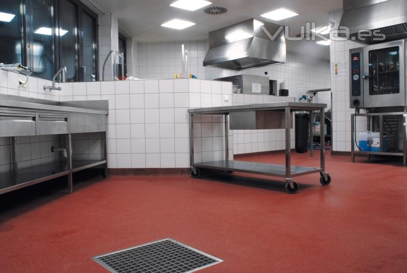 Cocinas industriales metafloor for Distribucion de cocinas industriales