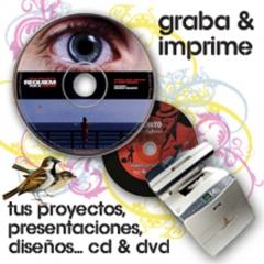 imprimimos y duplicamos cds y dvds