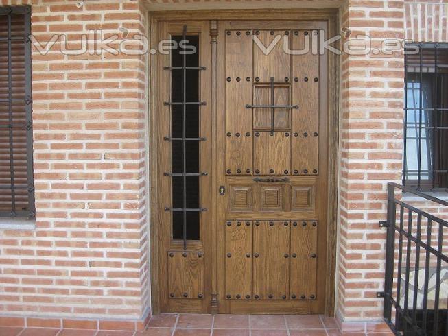 Carpinteria jose maria sanchez melchor - Puertas de calle ...
