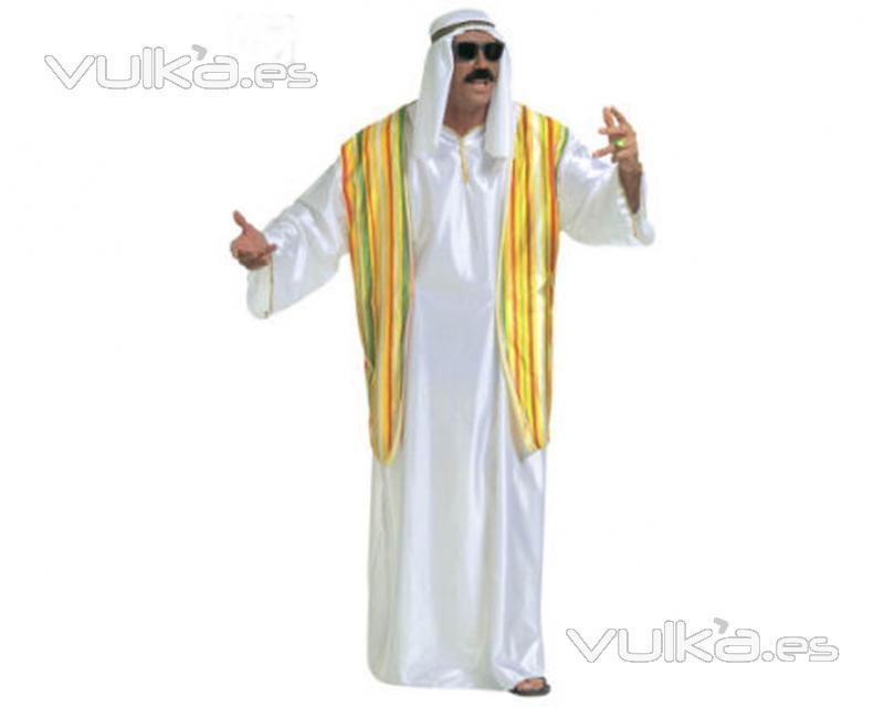 Disfraz de Árabe, incluye túnica y pañuelo