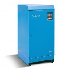 Compresor rotativo de paletas hydrovane