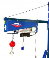 Polipasto profesional prm170 motor electrico 1500 rpm 30 metros de cable