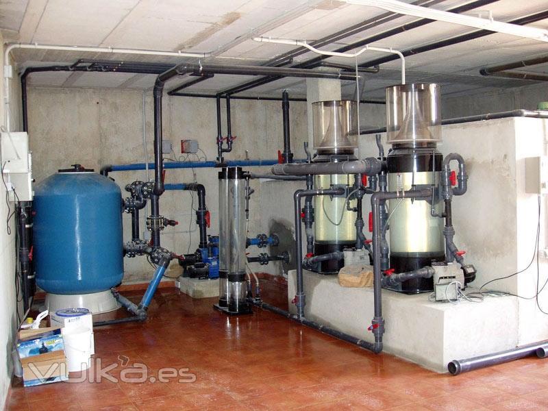 filtracion grandes acuarios marinos