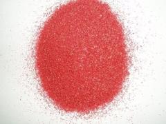 Arena de silice  te�ida rojo