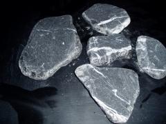 Palqueta marmol  negro