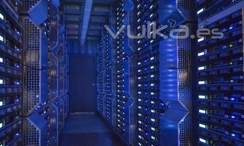 Centro de Datos con iluminación LED
