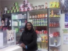 Productos de alimentos afroamericanas