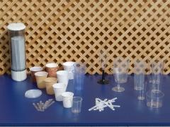 Vasos inyectados de pl�stico