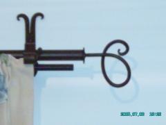 Terminal de barra de cortina, modelo caracol