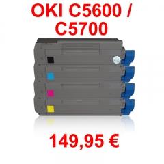 Compatible para las siguientes m�quinas:      * oki c 5600     * oki c 5600 dn     * oki c 5600 n   * oki c 5700   ...