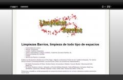 Web sencilla para presencia web para una empresa de limpiezas ubicada en navalcarnero. creada con css con envío de ...