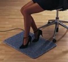 Alfombra el�ctrica calefactora para interiores. ofrece un agradable calor en la zona de los pies y aumenta el ...