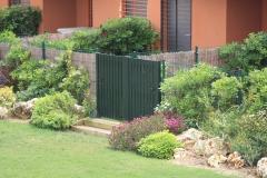 Puertas modelo CLASSIC Euroterra PVC Foliado en Verde