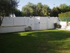 Puertas modelo gava de pvc blanco