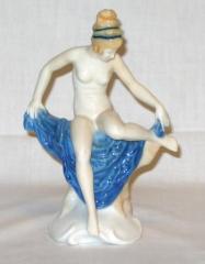 Figura de porcelana hutschenreuther carl werner