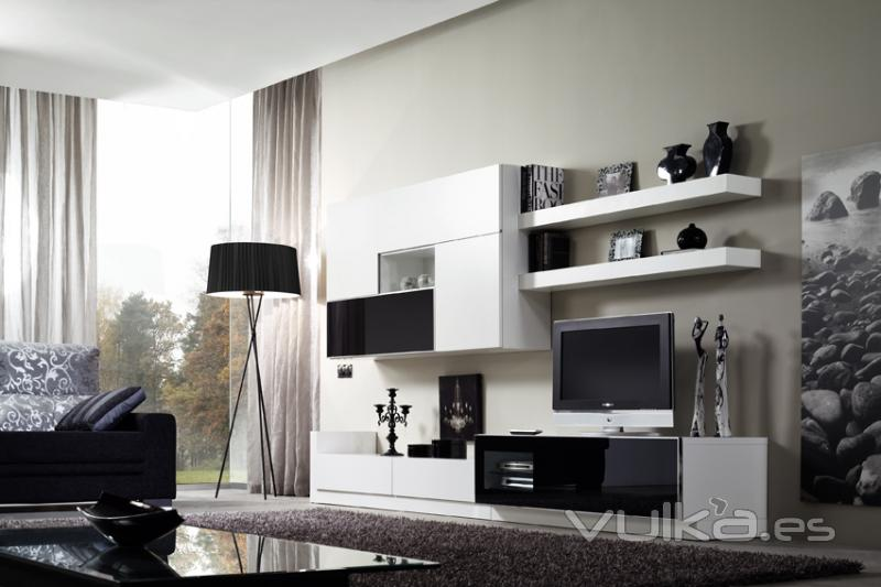 Foto salon moderno - Fotos decoracion salones modernos ...