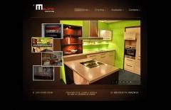 Empresa de cocinas a medida, servicio de asesoramiento a domicilio. creada en flash y xhtml. ...